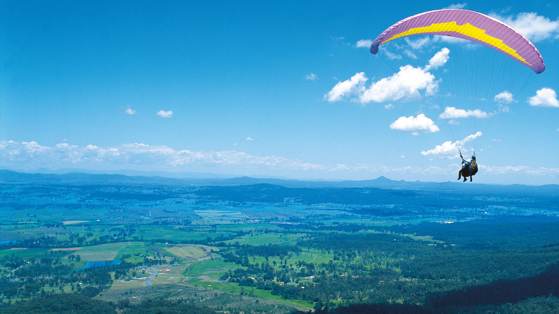 hang gliding wallpaper