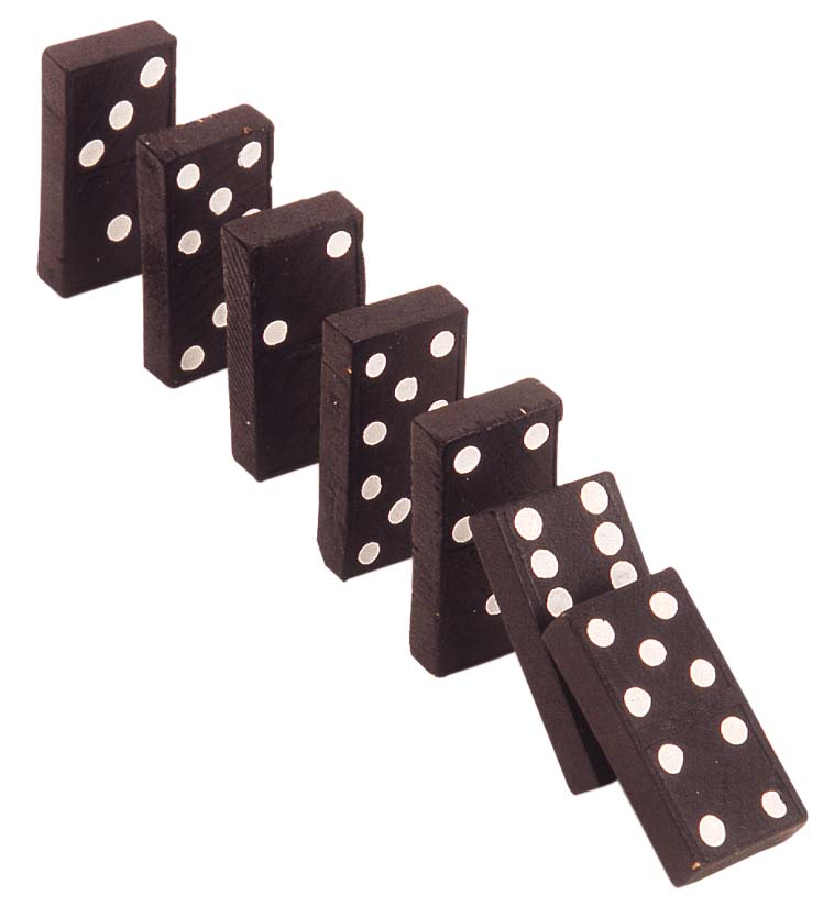 Dominoes - 01 photo