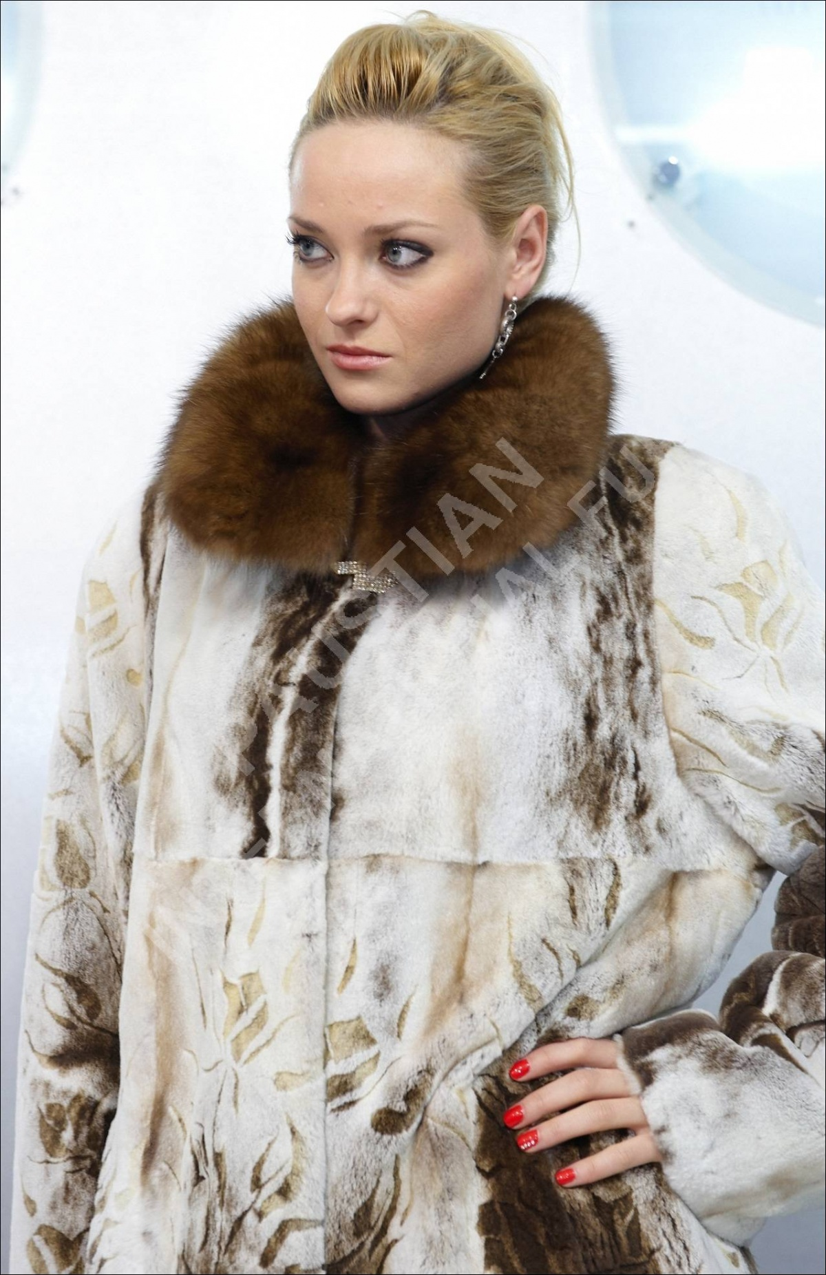 Fur coat - 05 photo