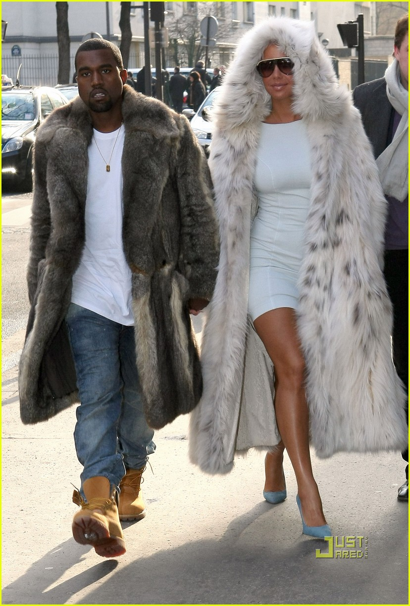 Fur coat - 10 photo