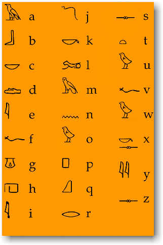 Hieroglyphs - 09 photo