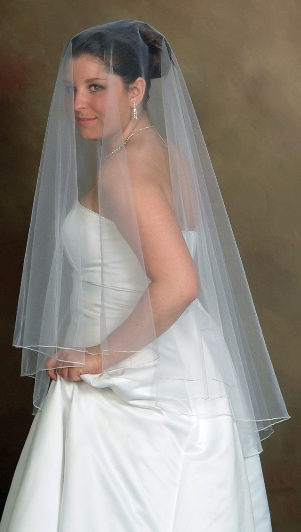 Wedding veil - 02 photo