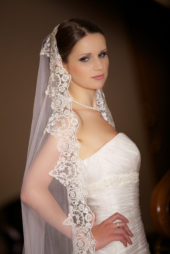 Wedding veil - 06 photo