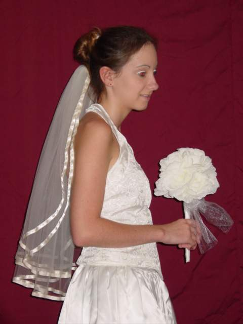 Wedding veil - 07 photo
