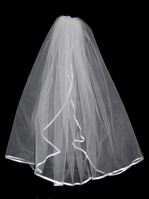 Wedding veil - 12 photo